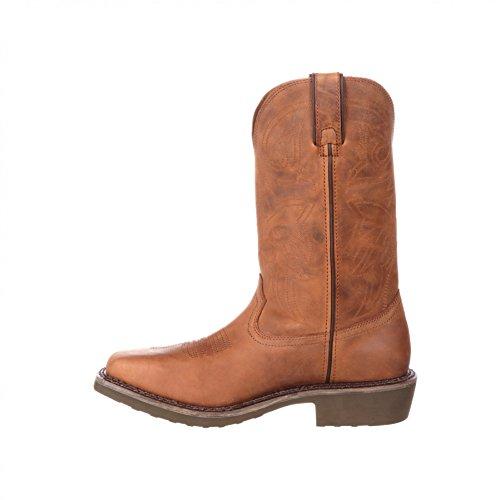 Fb Fashion Boots Stivali Durango Ddb0101 W Pull On Brown / Stivali Western Da Uomo Marrone / Stivali Da Uomo / Stivali Da Lavoro / Farm E Ranch Boots Brown (wide W)
