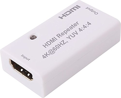 Honor Digital Techs HDMI 2.0 Pro Repeater Connector Extender 4Kx2K@60HZ, YUV 4:4:4, HDCP 2.2/1.4, EDID Passthrough CEC HDR Bandwidth up to 18Gbps by Honor Digital Techs