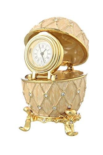 Faberge Style Egg Jewel Box - 5
