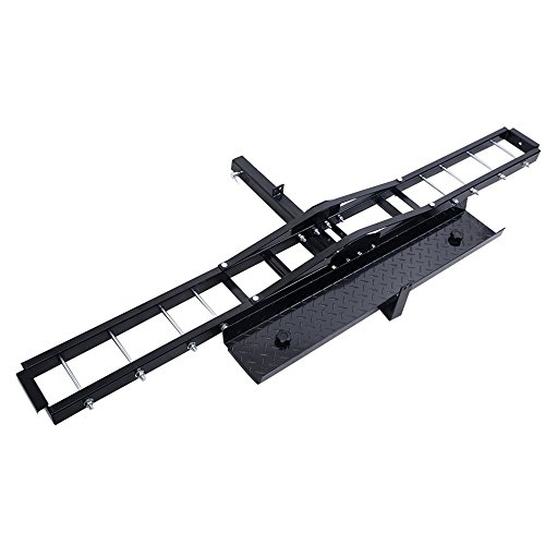 Cc Pull Flat Bar (Steel Motorcycle Scooter DirtBike Carrier Hauler Hitch Mount Rack Ramp Anti Tilt TKT-11)