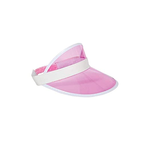 Amazon.com  Pink Casino   Pub Golf Visor Hat Fancy Dress Adult One size  Costume  Clothing 973948199b6