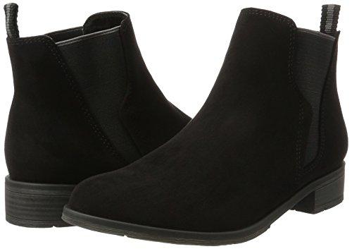 Schwarz TOZZI MARCO 25321 Black Damen Boots Chelsea XqRUqw