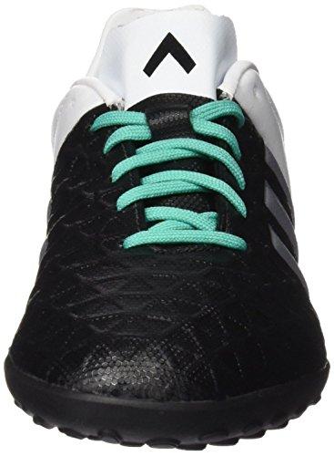 Football 4 32 adidas Negro Ace Mixte Chaussures de Plamat Negbas Multicolore Bébé Plateado Verde TF 15 Menimp Blanco J EU vv0wqEr