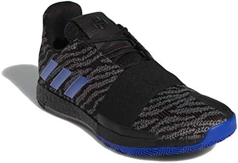 Adidas Harden Vol 3 Basketballschuhe, Schwarz/Blau/Grau (G26811)