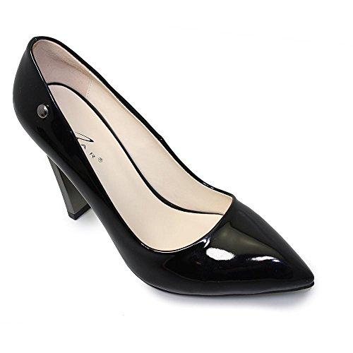 Lunar negro vestir Negro mujer de Zapatos para negro raqxr1n