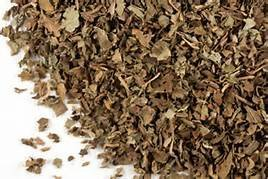 Herbs: Patchouli Dried Herb ~ One Ounce small cut ~ Wicca ~ Ravenz Roost Herbs with Special Info on (Patchouli Leaves)