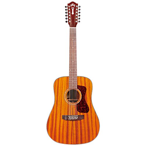Guild D-1212E 12-String Acoustic-Electric Guitar in Natural