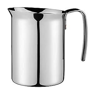 Bialetti 1804 Bricchi - Jarra de leche (acero inoxidable, 750 ml)
