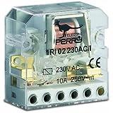 Télérupteur électromécanique 230V 2 contacts 2 séquences à encastrer
