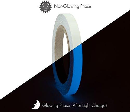 Glow in the Dark Photoluminescent Tape 10 Yard  )