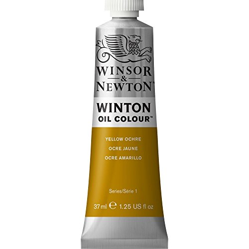 Yellow Colour - Winsor & Newton Winton Oil Colour Paint, 37ml tube, Yellow Ochre