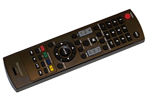 OEM Sharp Remote Control: LC42A49L, LC-42A49L, LC42D69U, ...