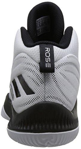 Adidas Mens D Rose Dominate Iii, Bianco / Nero Bianco / Nero