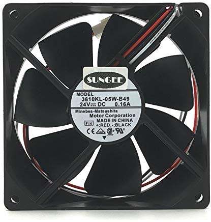 3610ML-05W-B49 9225 9025 9cm DC 24V 0.16A For Fanuc series 16/18 TA, MA, TB, MB, TC, MC 3wire cooling fan