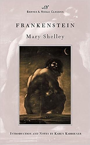 Amazon Com Frankenstein Barnes Noble Classics 9781593080051
