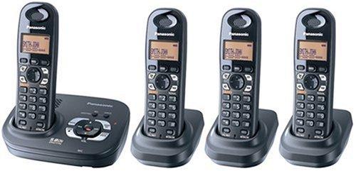 5.8 Ghz Cordless Handset (Panasonic 5.8Ghz Expandable Digital Cordless Answering System - 4 Handset System (KX-TG4324B))