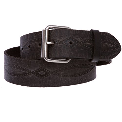 1.75 Inch Leather Casual Belt - 1 3/4