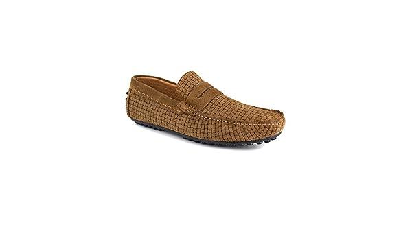 Mocasin J.Bradford - Cuero Arena JB-SINAGOT: Amazon.es: Zapatos y complementos