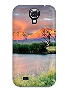 Fashion Tpu Case For Galaxy S4- Vivid Colors On River Bend Defender Case Cover