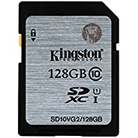 Kingston Digital SDXC Class 10 UHS-I 45R/10W Flash Memory...
