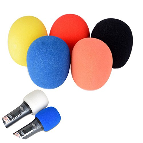 - Novelty - Filter Shure Sm57 Microphone Cover Behringer Sm58 Zoom Blue Yeti Windscreen - 1pair Randomly Color Mician'S Gear Microphone Windscreen Black Foam - Behringer Microphone - 1PCs