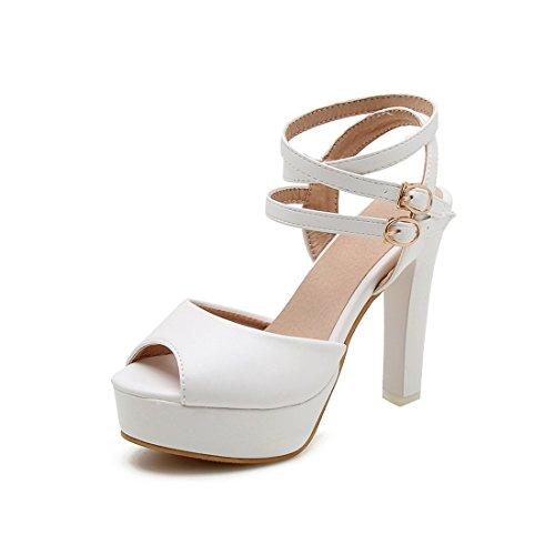 e 42 tacchi le impermeabili sandali i alti e white con violento sono sandali donne sandali i sono semplici TFwUnFSxXq