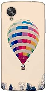 Snoogg Hot Air Ballooning Designer Protective Back Case Cover For Google Nexus 5