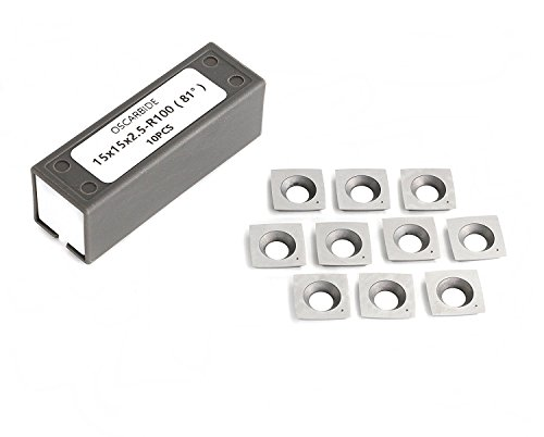 15mm Square Tungsten Carbide Cutter Insert with 4
