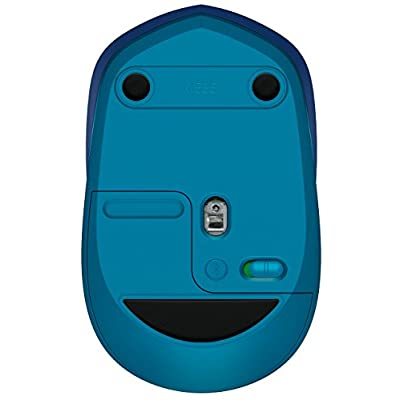 Logitech M535 Compact Bluetooth Wireless Optical Mouse for Mac, Windows, Chrome OS and Android Devices - Blue (Renewed): Electronics