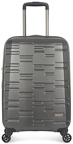 Antler Prism Embossed Dlx Hardside Charcoal 21'' Expandable, Color: Gray, Size: Cabin by Antler