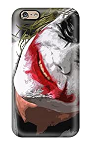 Iphone 6 Hard Back With Bumper Silicone Gel Tpu Case Cover The Joker