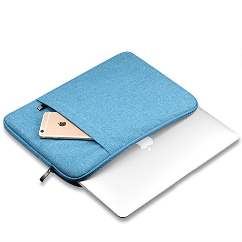 Funda Blanda Bolso Sleeve Para Ordenador Portátil / Macbook / Ultrabook Netbook Lake Blue