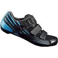 Shimano SHRP3NC420SB00 - Zapatillas Ciclismo, 42, Negro - Azul, Hombre