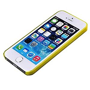 iPhone 5S Case, WKell Super Thin Soft TPU Can Be Bending Transparent Back Cover Case For Iphone5S&5(Assorted Colors),Green