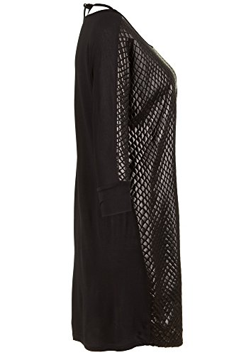 Snake bloom Kleid Black Dress Damen qcZ760