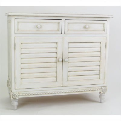 Wayborn Home Furnishing Stockholm Cabinet with Drawers, White - Stockholm Cabinet
