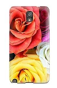 linJUN FENGNew Design Shatterproof GnXldTZ7654JNkvX Case For Galaxy Note 3 (pressed Flower Delights)