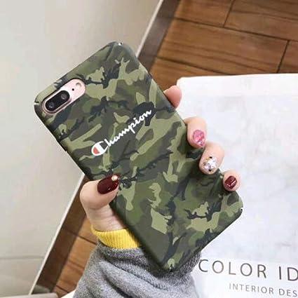 113e58de993967 Amazon.com: FidgetGear Fashion Couple Champion Marble Granite Slim Hard Case  for iPhone X 6 6s 7 8 Plus (iPhone 7 / iPhone 8, Green Camo): Electronics