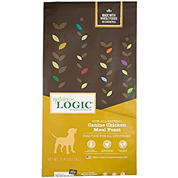 Amazon Natures Logic Canine Chicken Meal Feast 154lb Dry