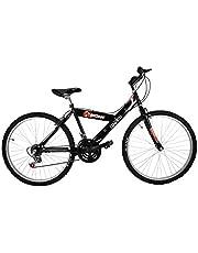 """Bicicleta Económica de Montaña Modelo""""Starbike"""", con Cuadro y Tijera de Acero, sin Suspensión, Rodada 26 18 Velocidades"""