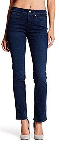 SPANX `Five Pocket Straight` (50027R) Formende Jeans - gerades Bein (Blau / Celeste)