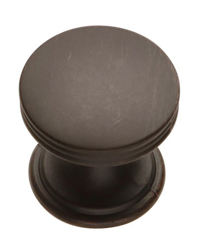 Hickory Hardware P2140-VB 1-Inch American Diner Cabinet Knob, Vintage Bronze - American Diner Cabinet Knob