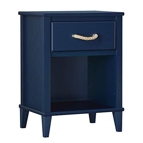 Little Seeds 68581036 Sierra Ridge Mesa Nightstand (Bedroom Blue Furniture)