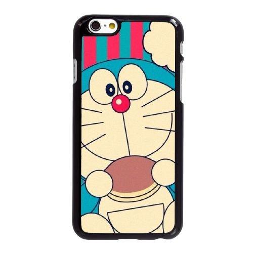 D1K71 Doraemon Y6W2ON coque iPhone 6 Plus de 5,5 pouces cas de couverture de téléphone portable coque noire DG6XOI3UJ