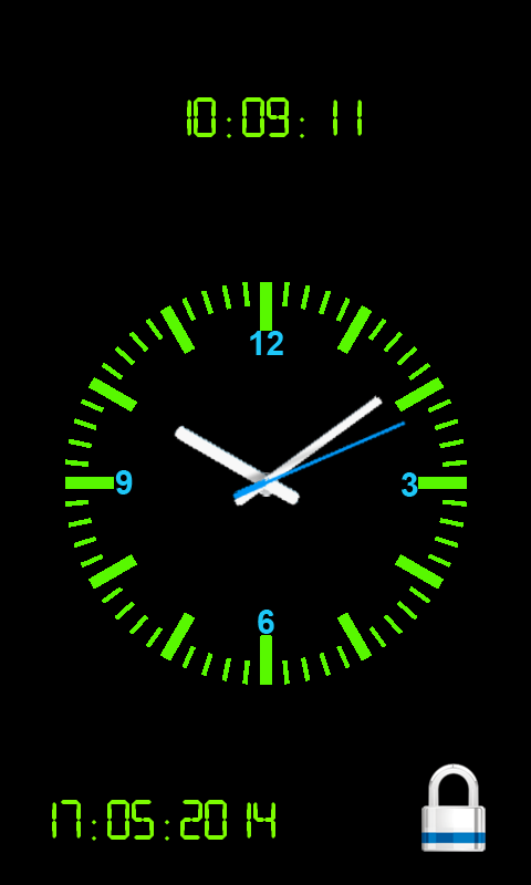 Amazon com: Analog Clock Screen Lock: Appstore for Android