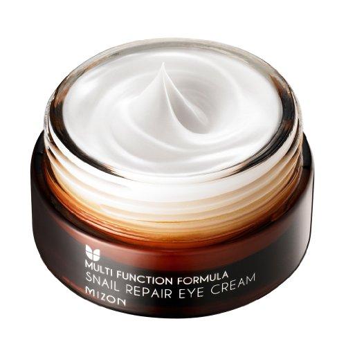 COSMETICS coréen, MIZON_ Snail réparation 25ml Crème contour des yeux (élasticité de la peau, blanchiment, anti-rides, hydratant, de longue durée) [001KR]