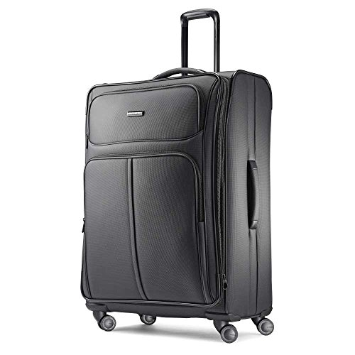 - Samsonite Checked-Large, Charcoal