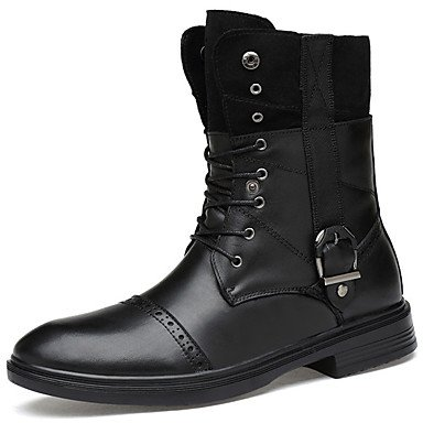 Nappa Leather CN40 Booties Women'S Boots Combat Black 5 Winter RTRY Ankle Boots For Casual Outdoor Boots Cowboy Shoes 5 US8 Boots Fall Bootie UK6 EU39 Western 4tEnnqxP