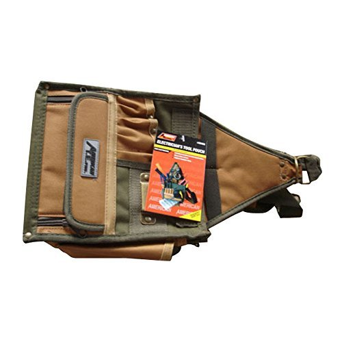 ATE Pro USA Professional Heavy-duty Electrician's Tool Pouch
