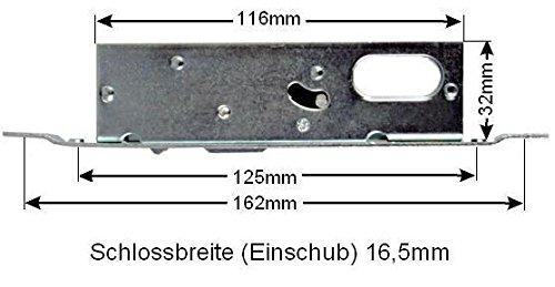 Schiebet/ürschloss Schiebet/ür Schiebetor Einsteckschloss Hakenschloss Beschlag